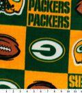 Green Bay Packers Fleece Fabric 58\u0027\u0027-Block