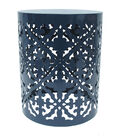 Hudson 43™ Metal Accent Table-Navy