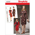 Simplicity Pattern 1777H5 6-8-10-12--Simplicity Pattern