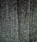 Apparel Knit Fabric 57\u0022-Ribbed Black and Gold