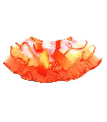 Maker's Halloween Infant Ribbon Tutu-Candy Corn