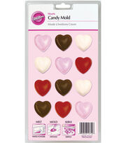 Wilton® Lollipop Mold-Hearts, , hi-res