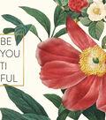 In Bloom Foiled Double-Sided Cardstock 12\u0022X12\u0022-BeYOUtiful & Gold Dot
