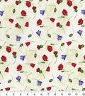 Hi Fashion Premium Quilt Fabric 44\u0022-Tossed Stems