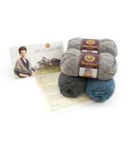 Outlander Garment Knit Kit-Transported to 1743 Shawl, , hi-res