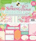 DCWV 12\u0022x12\u0022 Spring Fling Rhinestone Stack