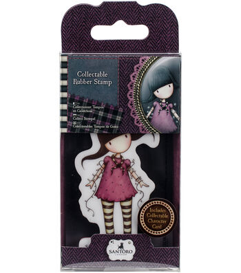 Santoro Rubber Stamps-No. 13, Fairy Lights