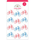 Doodlebug Cute Clips-Bike Ride