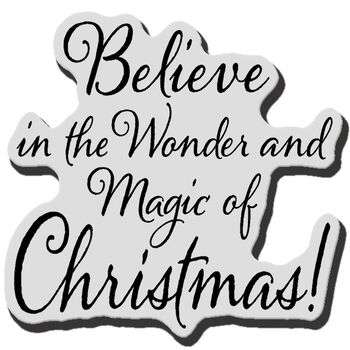 Beliv Xmas-cling Rubber Stamp