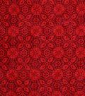 Keepsake Calico™ Cotton Fabric 43\u0022-Biking Red Medallion Blender