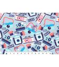 Novelty Cotton Fabric 43\u0022-Camera