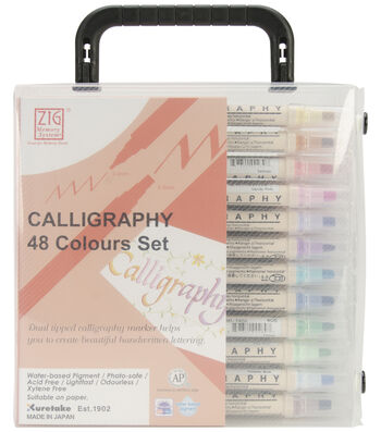 Zig Memory System Calligraphy Dual-Tip Markers