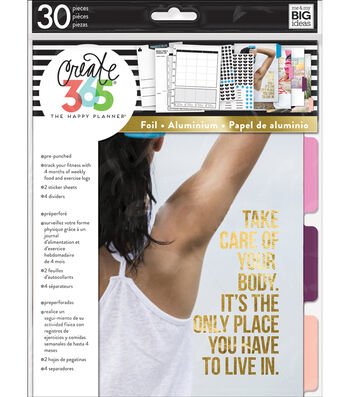 Create 365 The Happy Planner™ Fitness Edition Expansion Pack