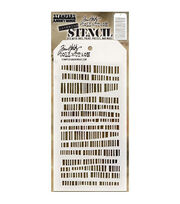 "Tim Holtz Layered Stencil 4.125""X8.5""-Code, , hi-res"