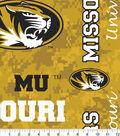 University of Missouri Tigers Fleece Fabric 60\u0022-Allover
