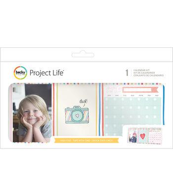 Project Life High Five Pack of 25 Pocket Calendar Kit