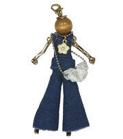 Laliberi Bohemian Doll Pendant-Denim Pantsuit Sky, , hi-res
