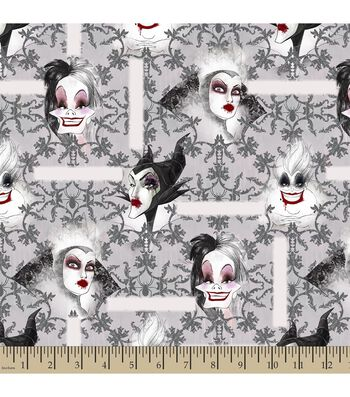 Disney® Villains Print Fabric
