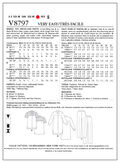 Mccall Pattern V8797 F5 (16-18--Vogue Pattern