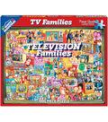 White Mountain Puzzles 1000 Pieces 24\u0027\u0027x30\u0027\u0027 Jigsaw Puzzle-TV Families