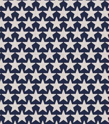 Americana Patriotic 60''x60'' Round Tablecloth-Stars