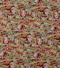 Alexander Henry Cotton Fabric 44\u0022-Geana  Brick Multi