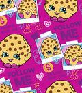 Shopkins Fleece Fabric 59\u0022-Follow Me Minky