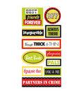 Sandylion Dimensional Stickers-Friends Words