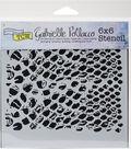 Crafter\u0027s Workshop Gabrielle Pollacco Template 6\u0027\u0027x6\u0027\u0027-Bubble Wrap