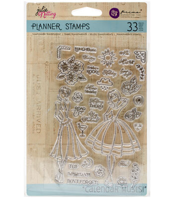 "Planner Clear Stamps 4""X6""-Calendar Musts"