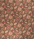 Home Decor 8\u0022x8\u0022 Fabric Swatch-Upholstery Fabric Eaton Square Usher Nutmeg
