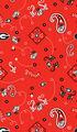 University of Georgia Bulldogs Cotton Fabric 44\u0022-Bandana