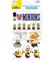 Minions Decoration Medley Dimensional Embellishments, , hi-res