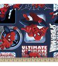 Marvel Ultimate Spiderman Badge Fleece Fabric