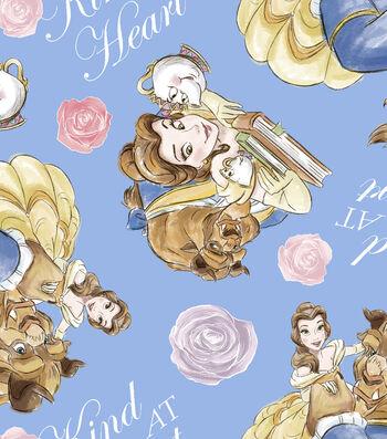 Disney® Beauty & The Beast Fleece Fabric 59''-Kind Heart