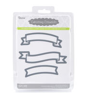 Darice® Embossing Essentials Dies-Banners, , hi-res