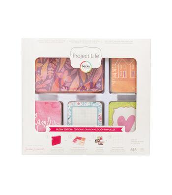 Project Life Becky Higgins Jen Wambash Bloom Edition 616 Pack Core Kit