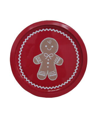 Maker's Holiday Christmas Cookie Platter-Gingerbread