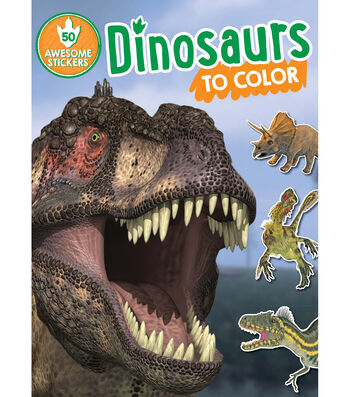 Parragon Dinosaurs To Color Activity Book