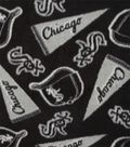Chicago White Sox Fleece Fabric 58\u0022-Tossed