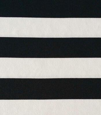 Rb2 Stripe Knit Black/white