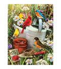 Junior Small Paint by Number Kit 8.75\u0022x11.75\u0022-Garden Birds