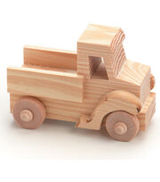 TRUCK  -WOOD TOY, , hi-res