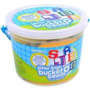 Perler Bucket O' Beads Fun Fusion Fuse Bead Kit-Letter Lingo, , hi-res