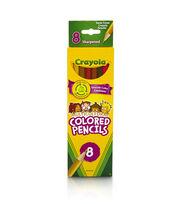 Crayola 8 ct. Multicultural Colored Pencils, , hi-res