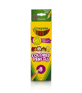 Crayola 8 ct. Multicultural Colored Pencils