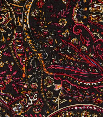 """Sportswear Stretch Corduroy Fabric 55""""-Boho Floral"""