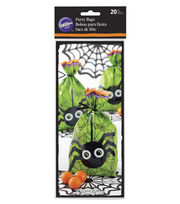 Wilton 20ct Halloween Spider Party Bags, , hi-res