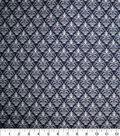 Quilter\u0027s Showcase™ Fabric 44\u0027\u0027-Navy Damask