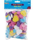 Darice Foam Shapes 300/Pkg-Hearts